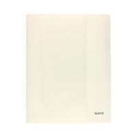Skoroszyt kartonowy A4 biały perła Leitz
