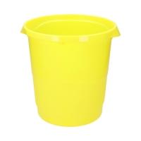 Kosz na śmieci 14l żółty Vivida Esselte