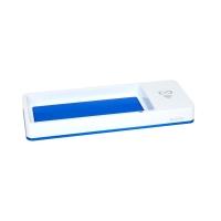 Piórnik na biurko biało-niebieski z ładowarką indukcyjną Wow Leitz