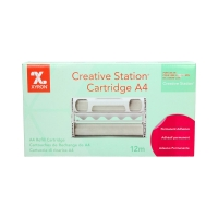 Folia laminacyjna A4/12m samoprzylepna - wkład Xyron Creative Station