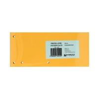 Przekładki kartonowe 1/3 A4 pomarańczowe Wektor (100)