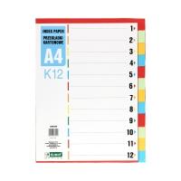 Przekładki kartonowe A4 12k DRect K12