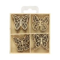 Ozdoby drewniane pudełko Motyle (20)