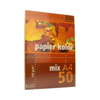 Papier ksero A4 160g mix Kreska (50)