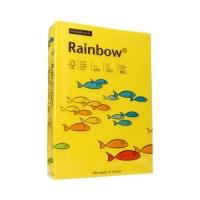 Papier ksero A4 160g ciemnożółty Rainbow 18