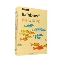 Papier ksero A4 160g kość słoniowa Rainbow 06