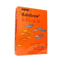 Papier ksero A4 160g ciemnopomarańczowy Rainbow 26