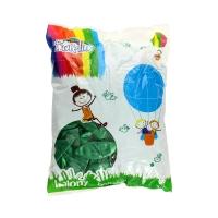 Balon 12 metalic zielony (100)