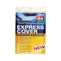 Zestaw do oprawy dokumentów niebieski 4,5mm Express (10)