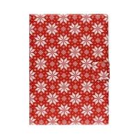 Notes A5 rzep Sweterek Śnieżynki czerwony Biurfol