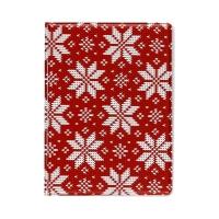 Okładka na dowód rejestracyjny Sweterek Śnieżynki czerwona Biurfol