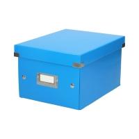 Pudełko C&S uniwersalne małe niebieskie WOW Leitz