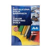 Folia metaliczna A4 niebieska barwiąca Argo (100)