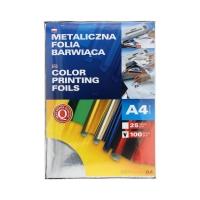 Folia metaliczna A4 srebrna barwiąca Argo (100)