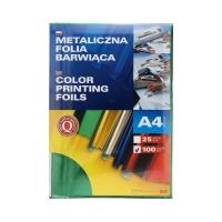 Folia metaliczna A4 zielona barwiąca Argo (100)