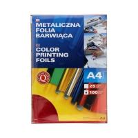 Folia metaliczna A4 czerwona barwiąca Argo (100)