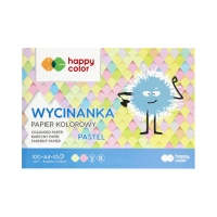 Wycinanka A4/10 pastel 100g Happy Color