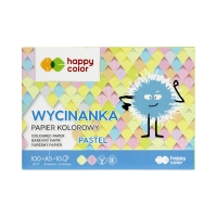 Wycinanka A5/10 pastel 100g Happy Color