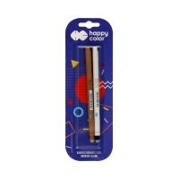 Długopis 0.5mm usuwalny niebieski Uszaki (2) Happy Color