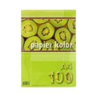 Papier ksero A4 80g brązowy (100)