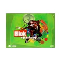 Blok rysunkowy A3/30 kolor Kreska