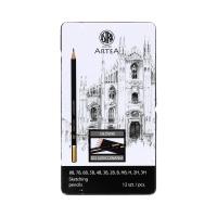 Ołówki do szkicowania - zestaw 12szt. Artea Astra 206120013