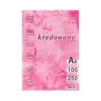 Papier kredowy A4 250g Kreska (100)