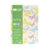Blok Deco A4/20 5kol 170g Spring Happy Color