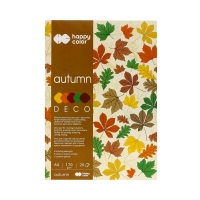 Blok Deco A4/20 5kol 170g Autumn Happy Color