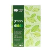 Blok Deco A4/20 5kol zielony HappyColor 2030-052
