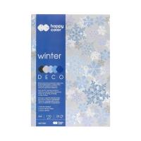 Blok Deco A4/20 5kol 170g Winter Happy Color