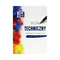 Blok techniczny A3/10 biały 250g Oxford 400093232