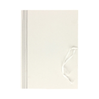 Teczka wiązana A4 biała 400g Kiel-Tech