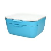 Pojemnik 2 szuflady niebieski Leitz Cosy 53570061