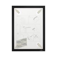 Ramka informacyjna A4 czarna Duraframe Wallpaper samoprzylepna