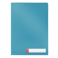 Folder A4 kieszonka na etykietę niebieski Leitz Cosy 47080061