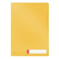 Folder A4 kieszonka na etykietę żółty Leitz Cosy 47080019