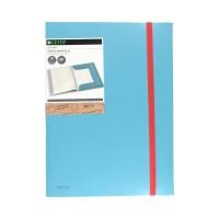 Album ofertowy A4/20 poszerzony niebieski Plus Leitz Cosy 46700061