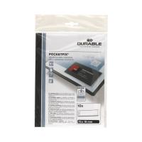 Kieszeń samoprzylepna 18x75 (10) Pocketfix Durable