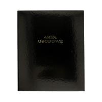 Teczka akta osobowe A4/32/2R czarna Barbara