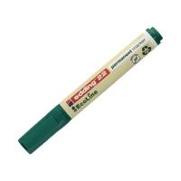 Marker permanentny 1.0-5.0mm zielony ścięty Edding 22 EcoLine