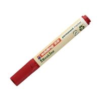 Marker permanentny 1.0-5.0mm czerwony ścięty Edding 22 EcoLine