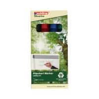 Marker flipchart 1.5-3.0mm 4kol okrągły Edding 31 EcoLine