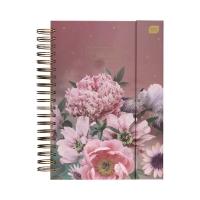 Album B5/25 spirala Metallic Kwiaty na magnes Interdruk