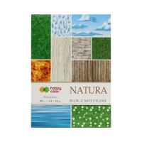 Blok motyw A4/15 Natura Happy Color