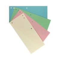 Przekładki kartonowe 1/3 A4 mix/pastel Tamto (100)