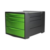 Pojemnik dokumenty 4szuflady zielony Vivida Esselte