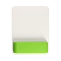 Podkładka pod mysz i nadgarstek biało/zielona WOW Leitz