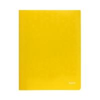 Skoroszyt kartonowy A4 żółty WOW Leitz