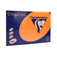 Papier ksero A3 80g fluo pomarańczowy Trophee 2880